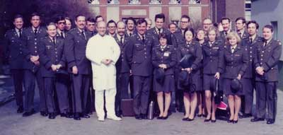 Course with American military women's